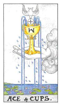 таро - асо чаши
