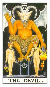 таро - дяволът