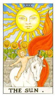 таро - слънцето