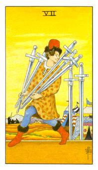 таро - седмица мечове