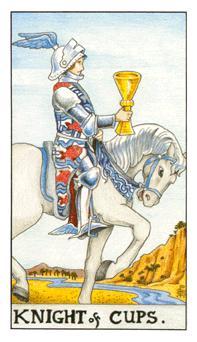 таро - рицар на чашите