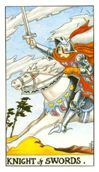 таро - рицар на мечовете
