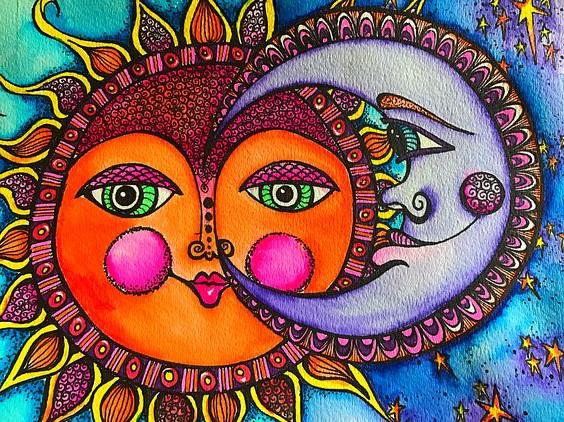 слънце и луна