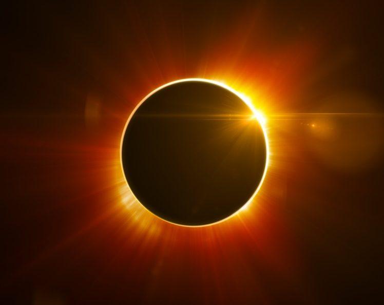 слънчево затъмнение в рак